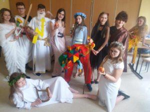 Uczta bogów na Olimpie